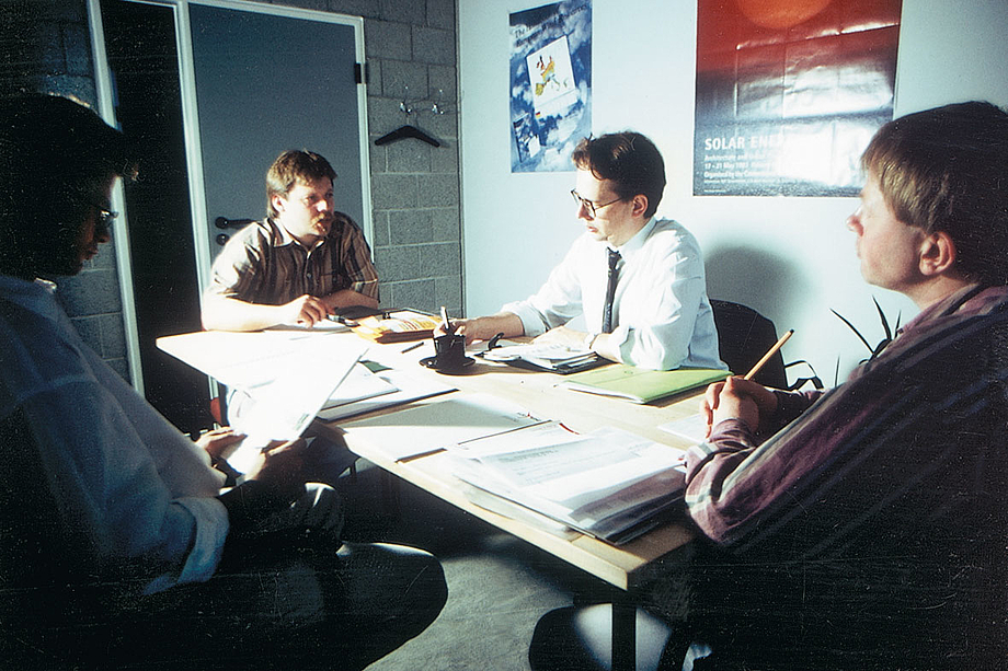 The company was founded in Bremerhaven by Günter Lammers and Dr Bodo Wilkens (from left to right) in 1990.